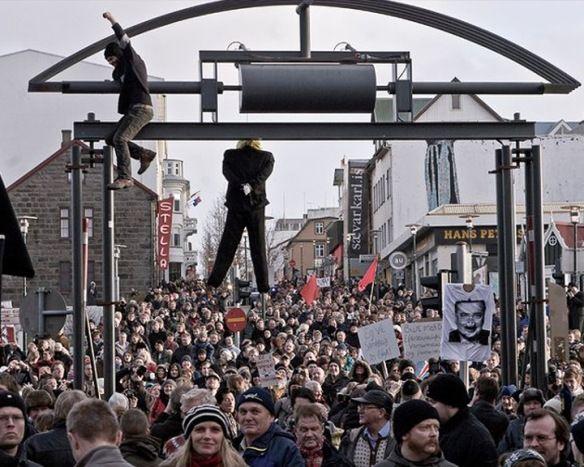 forradalom Izlandon