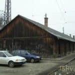vasútállomás közelében régi épület