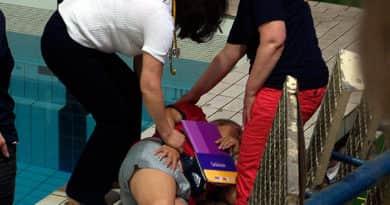 Helyszíni tudósításunk: váci sérültje is van a BVSC uszodában bekövetkezett balesetnek