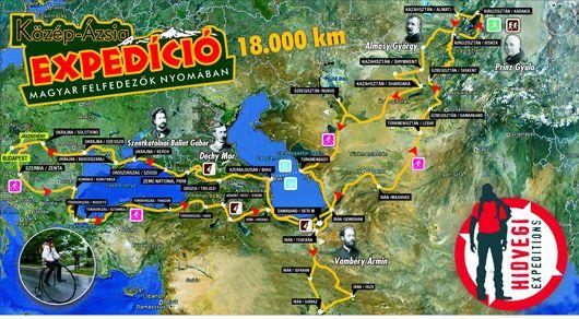Hidvégi-Üstös Pál futásának térképe-530