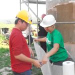 Habitat önkéntesek Berkenyén