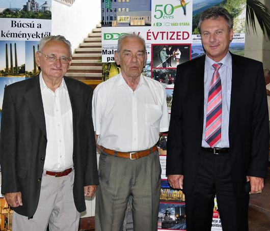 DDC ünnep - a három gyárvezető-530