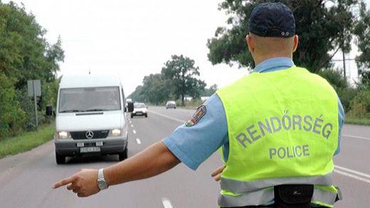 közúti ellenőrzés-520