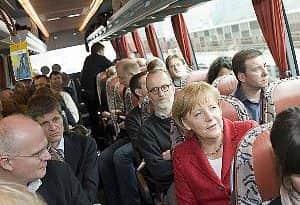 Meglepődtek Angela Merkel házán az oroszok