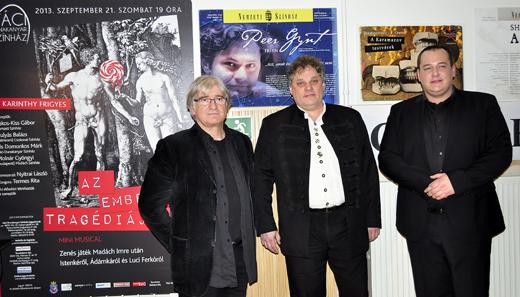 Kőfaragó Gyula plakátkiállításának megnyitója-520