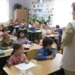Karolina iskola osztálykép