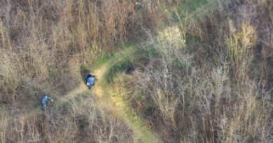 Helikopterrel is keresik az erdőkben a fatolvajokat