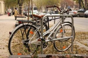 kerékpár lezárva