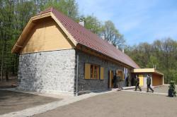 pénzásási túristaház felújítva