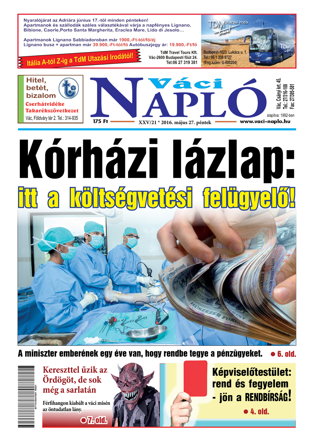 Váci Napló 21. szám