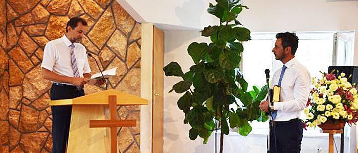Floch Gábor baptista lelkész beiktatása-700