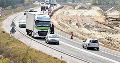 M2-es: két szakaszon is csak egy-egy sávon haladhat a forgalom