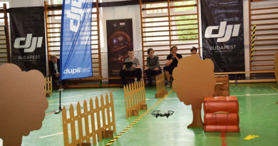 Sződligeten volt az első drónprogramozó verseny