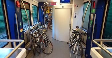 Kerékpárral a vonaton: a váci vonal is népszerű
