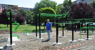 Rongálásbiztos fitneszpark épült Deákváron