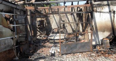 Egy ház teteje és a garázs is leégett Nagymaroson