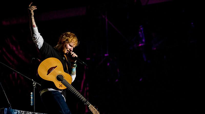 Ed Sheeran énekel a 2019-es Sziget Fesztiválon