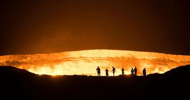 Csaknem fél évszázada lángol a pokol kapuja a sivatagban