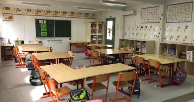 Idén Dunabogdányban is konténer tanteremben tanulnak a harmadikosok