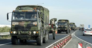Ma és holnap katonai konvojok mennek az M2-esen