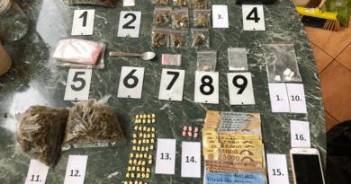 Kábítószer-kereskedelem miatt őrizetben