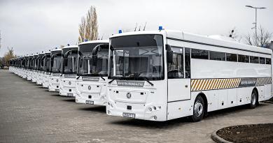 Volvo buszokkal szállítják a börtönökben a rabokat