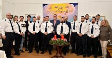 Év végi ünnepség a Verőcei Rendőrőrs tiszteletére