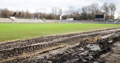 Újjáépül a stadion, miközben inog az NB II-es tagságunk