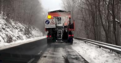 A dermesztő téli napokra készít fel a Magyar Közút