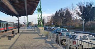 A város felé eső P+R parkolót hamarosan rendbe teszik
