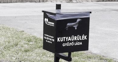 Ha kutyapiszok-gyűjtőt kér, azt engedélyeztetni kell