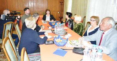 A helyi nemzetiségi vezetőkkel tárgyalt a városvezetés