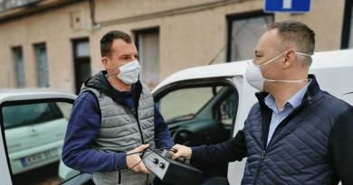 Koronavírus: ózonos fertőtlenítőt kapott a város