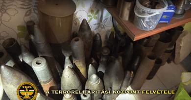 Vám utcai robbanás: a TEK-esek így fogták el (videó)