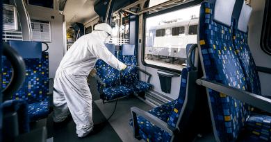 Koronavírus: az összes vasúti kocsit teljesen fertőtlenítik