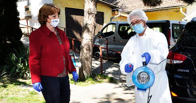 Ózongenerátort vásárolt a város az idősek otthonának