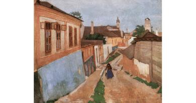 A szegény emberek festőjéről Vácott utcát neveztek el
