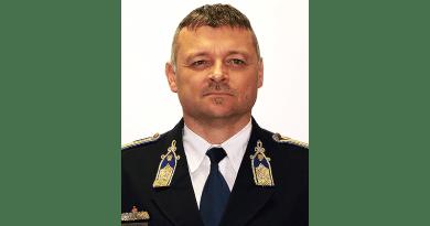 Révész Ákos József ezredes az új váci rendőrkapitány