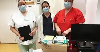 Orvosi eszközök a Szent Ferenc Kórház javára