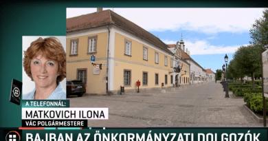 Az RTL Klubnak mondta a polgármester: egyre nehezebb a bérek kifizetése