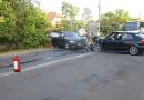 Két autó ütközött a főúton pénteken, emiatt lelassult a forgalom