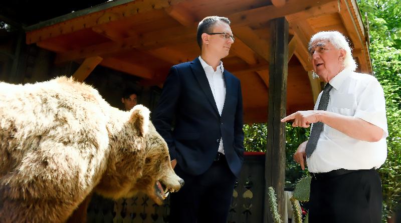 A botanikus kert és a medveotthon összefogott: indul a Medve a Kertben    Váci Napló Online