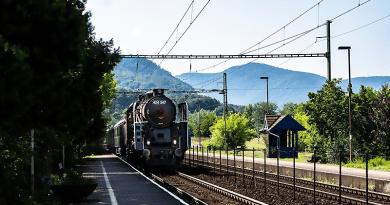 Hosszú szünet után a Bivaly végigpöfögött Budapest és Szob között