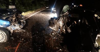 Az egyik autóvezető meghalt a péntek esti frontális ütközésben Vác közelében