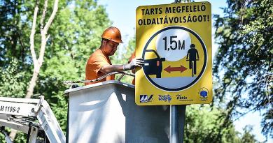 Tarts biztonságos távolságot a kerékpárosoktól – kéri a Magyar Közút