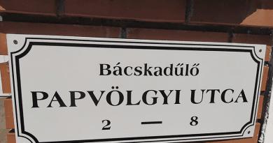 Új utcanévtáblák kerültek kihelyezésre Deákvárra