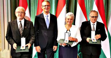 Három volt polgármester is magas állami kitüntetést vehetett át