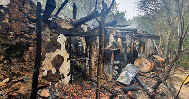 Leégett egy családi ház Perőcsényben, az épület lakhatatlanná vált