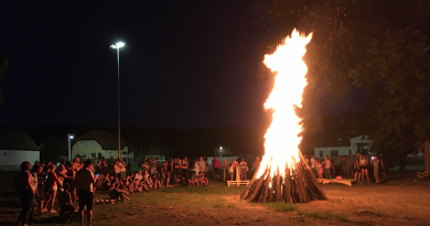 A hagyomány továbbél: Anna napi tábortüzet gyújtottak Vácdukán