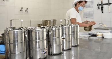 A főiskola konyhájáról látnak el mintegy félezer középiskolás diákot